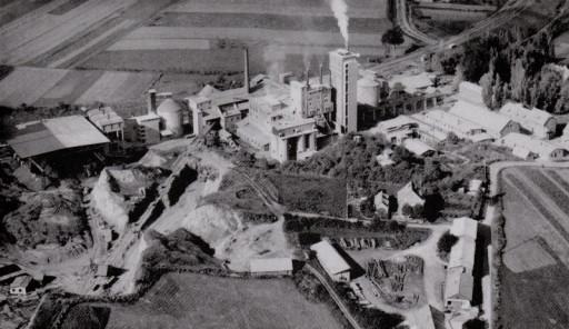 , li_1018, Zementwerk 1954, 1954