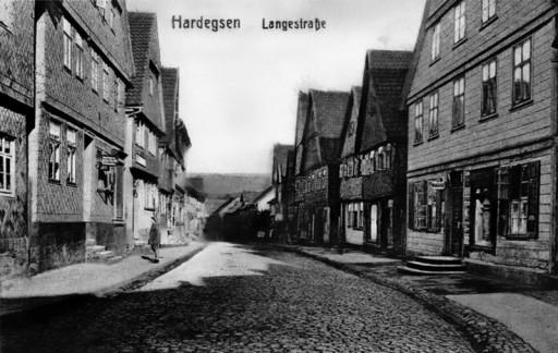 , te_0089, Lange Straße, oberer Bereich, um 1919