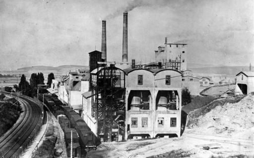 , te_0577, Zementwerk 1940, um 1940